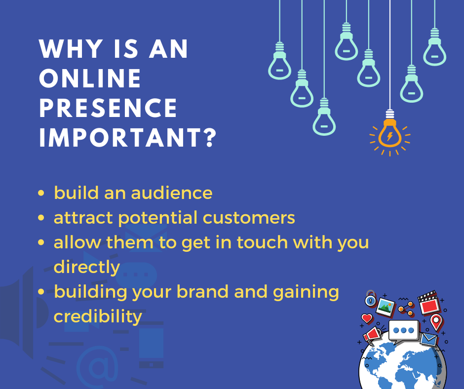 Why is an online presence important?